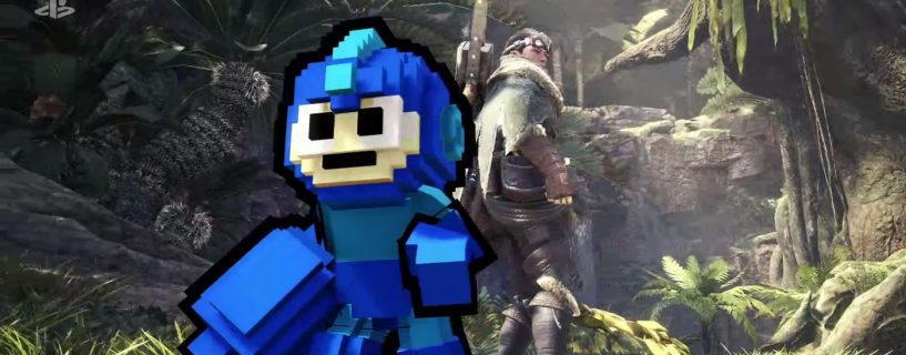 Mega Man + Monster Hunter = Sant